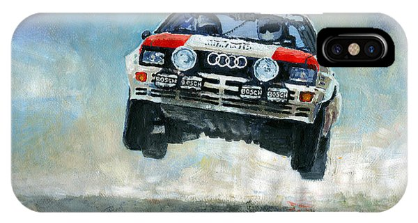 Paper iPhone Case - Audi Quattro Gr.4 1982 by Yuriy Shevchuk