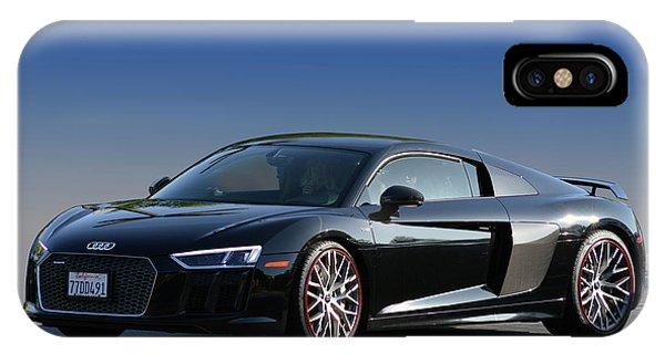 Audi R8 Rocket IPhone Case