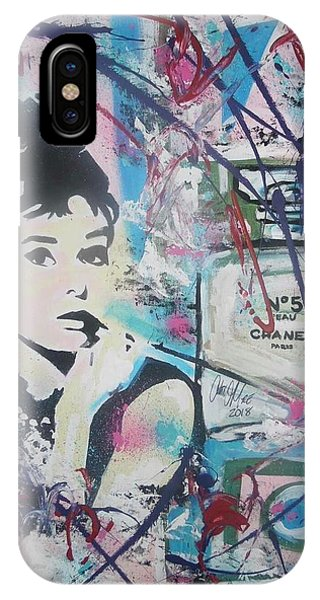 Audrey Chanel IPhone Case
