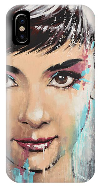 Audrey IPhone Case
