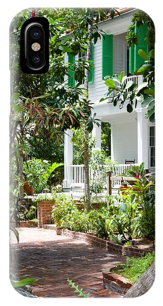 Audubon House Entranceway IPhone Case