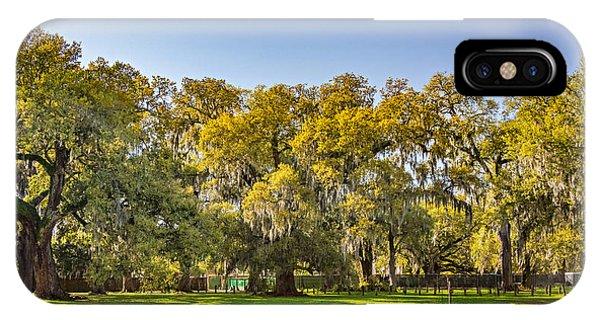 Steve Harrington iPhone Case - Audubon Park New Orleans by Steve Harrington