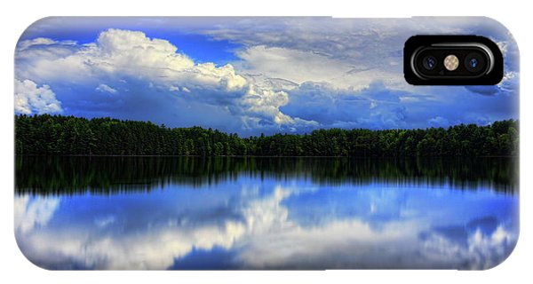 August Summertime On Buck Lake IPhone Case