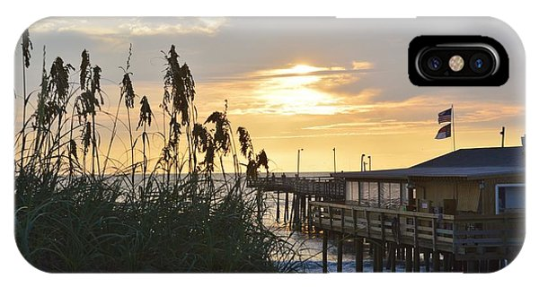 August Sunrise On The Obx  IPhone Case