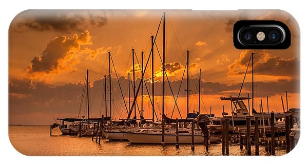 August Sunset IPhone Case