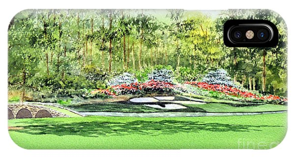 Augusta National Golf Course IPhone Case