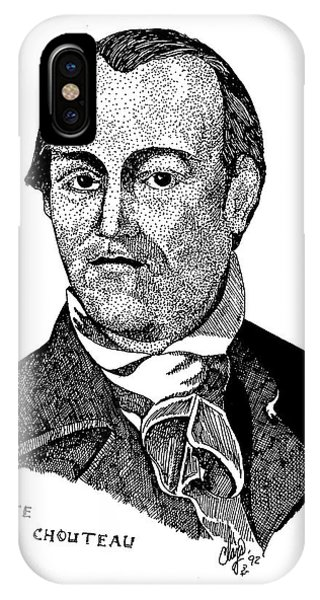Auguste Chouteau IPhone Case