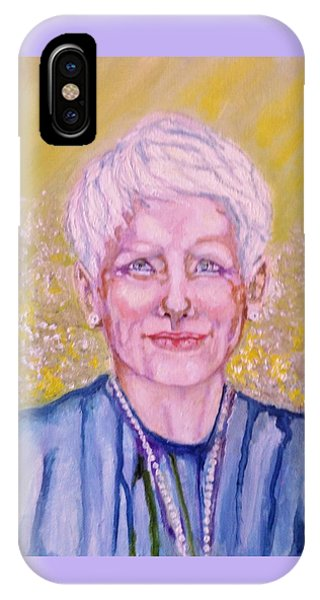 Aunt Betty IPhone Case