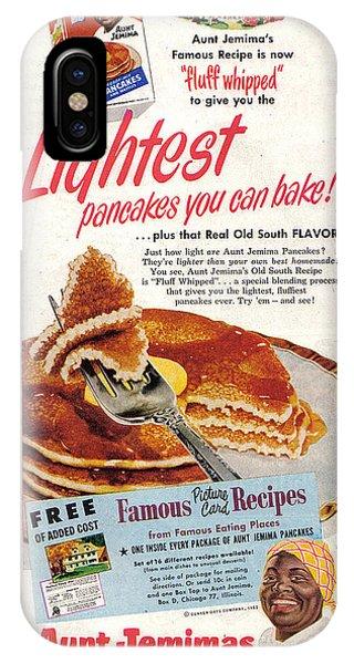 Aunt Jemima Pancakes IPhone Case