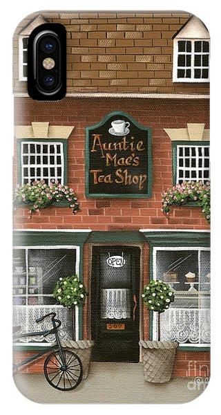 Auntie Mae's Tea Shop IPhone Case