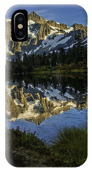 Aunumn Mountain Reflection IPhone Case
