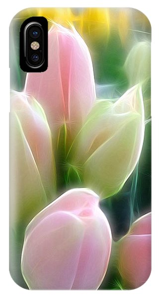 Aura Of Tulip IPhone Case