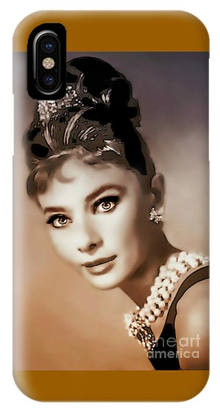 Aurdrey Hepburn - Famous Actress IPhone Case