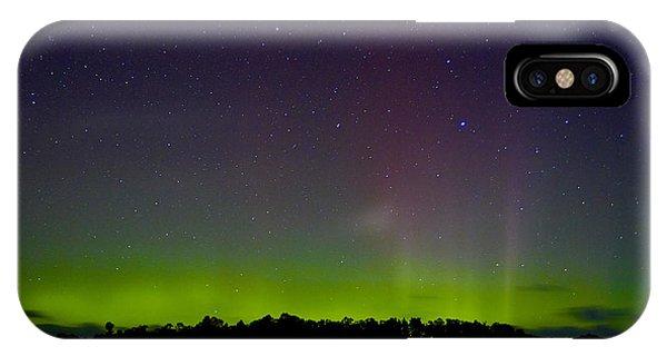 Aurora Australia Trial Bay Tasmania 19 March 2015 IPhone Case