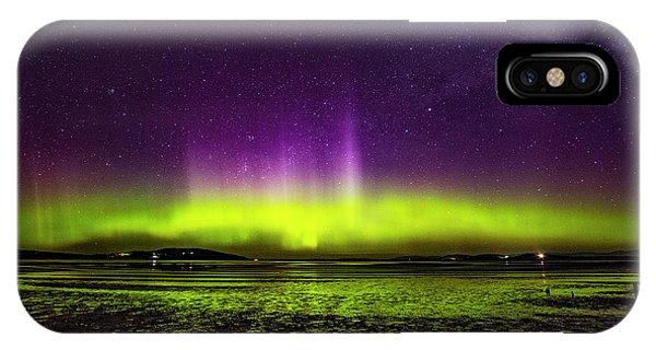 Aurora Australis IPhone Case