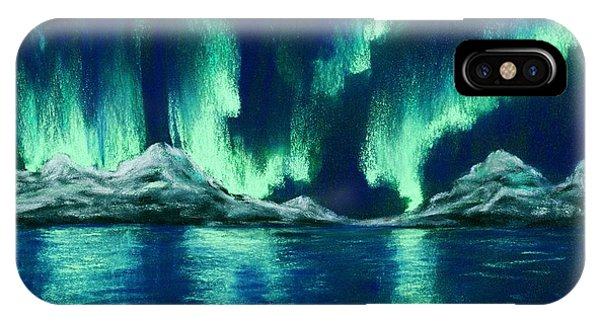 Aurora Borealis IPhone Case