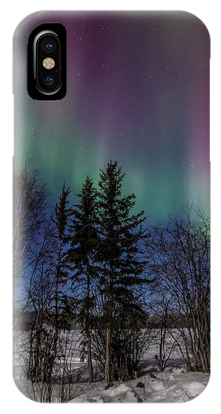 Aurora Curtains IPhone Case