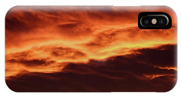 Aurora Firey Sunset IPhone Case