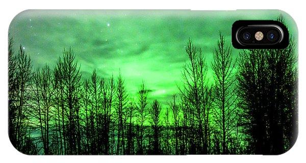 Aurora In The Clouds IPhone Case