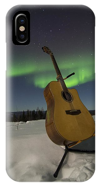 Aurora Instrumentalis IPhone Case