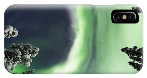 Aurora Lying On Your Back IPhone Case
