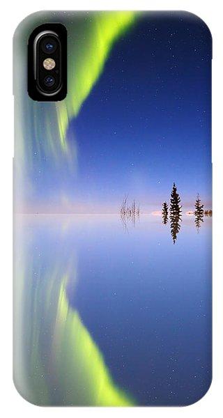 Aurora Mirrored IPhone Case
