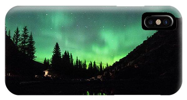 Aurora On Moraine Lake IPhone Case