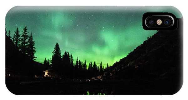 Aurora On Moraine Lake IPhone Case