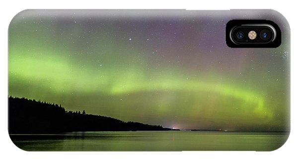 Aurora Over Superior 7 IPhone Case