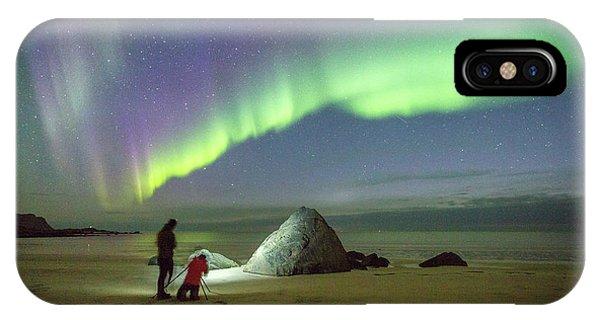 Aurora Photographers IPhone Case