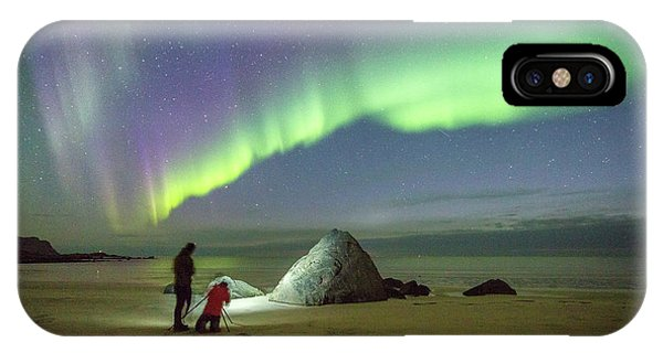 Aurora Photographers IPhone Case