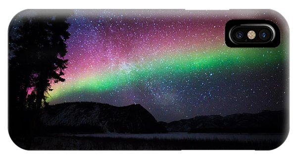Aurora Rainbow IPhone Case