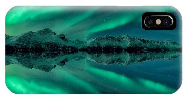 Aurora Square 2 IPhone Case