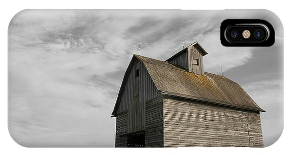 Old Barns iPhone Case - Austerity by Dylan Punke