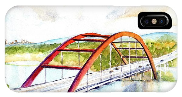 Austin 360 Bridge - Pennybacker IPhone Case