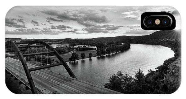 Austin 360 Pennybacker Bridge Sunset IPhone Case