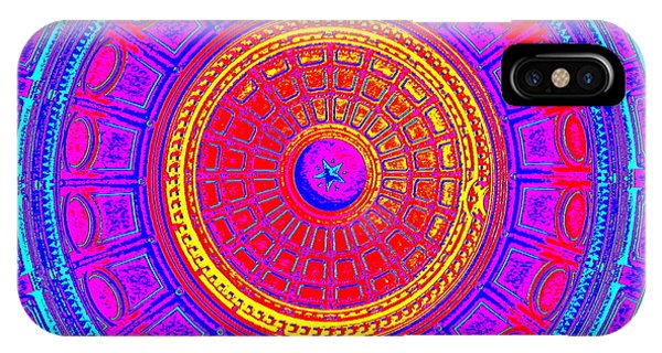 Austin Capitol Dome - 4 IPhone Case