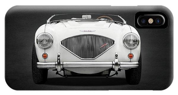 100 iPhone Case - Austin Healey 100 Le Mans by Mark Rogan