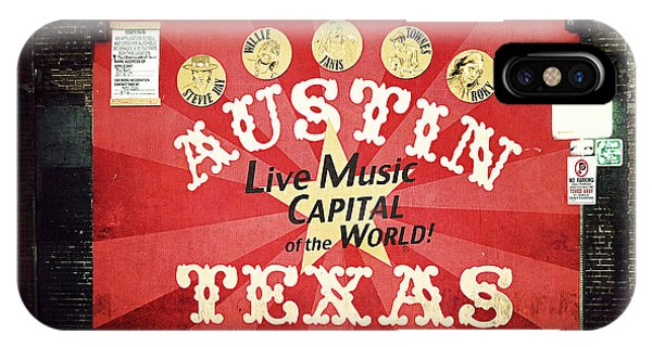 Austin Live Music IPhone Case