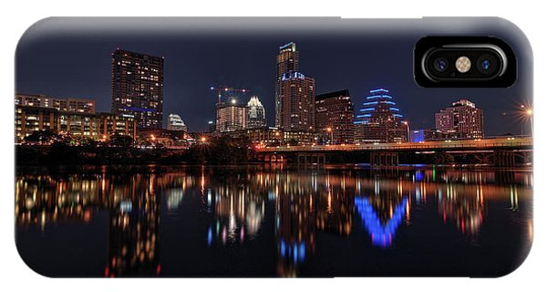 Austin Skyline At Night IPhone Case