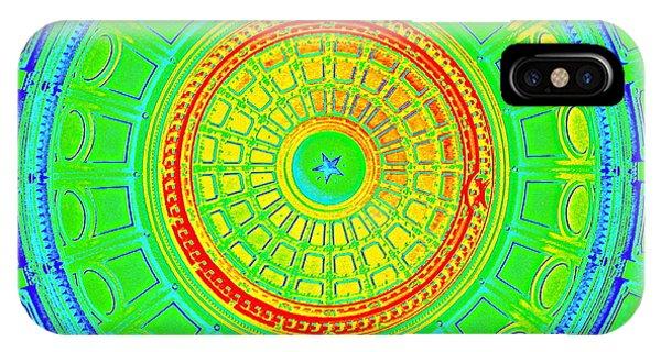 Austin Capitol Dome - 3 IPhone Case