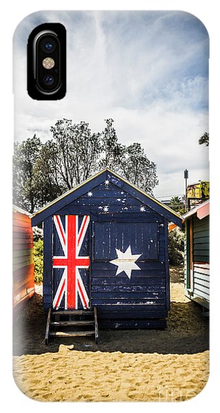 Victoria iPhone Case - Australia Bathing Boxes by Jorgo Photography - Wall Art Gallery