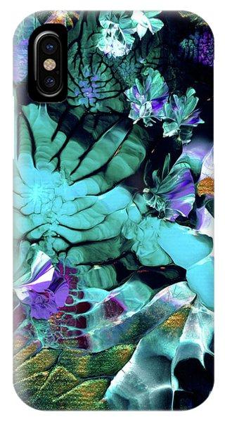 Australian Emerald Begonias IPhone Case