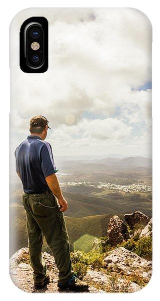 Explorer iPhone Case - Australian Explorer Sightseeing Mt Zeehan by Jorgo Photography - Wall Art Gallery