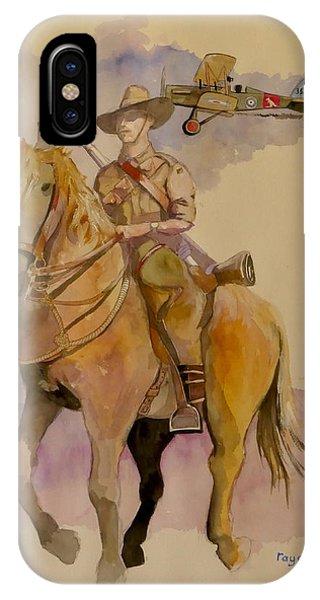 Australian Light Horse Regiment. IPhone Case