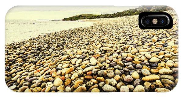Stone Wall iPhone Case - Australian Rocky Shoreline by Jorgo Photography - Wall Art Gallery