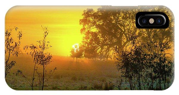 Australian Sunrise IPhone Case