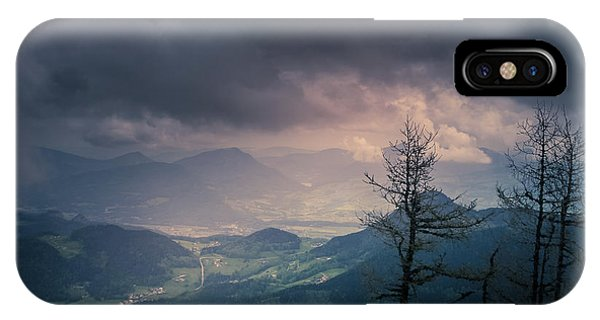 IPhone Case featuring the photograph Austrian Alps by Allin Sorenson