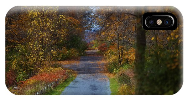 Autumn Wanderings IPhone Case