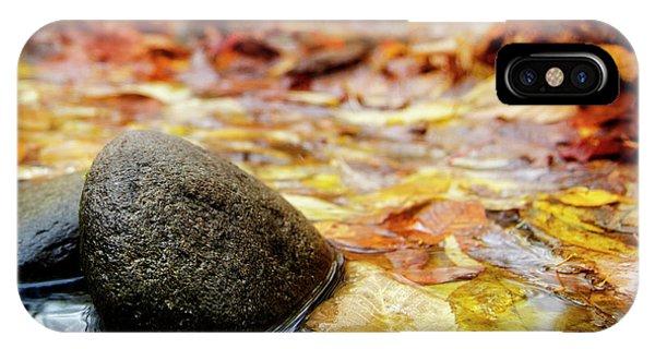 Autumn Along The Oconaluftee River IPhone Case